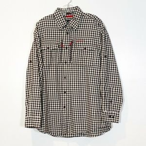 Orvis Trout Bum Flannel Plaid Western Fishing